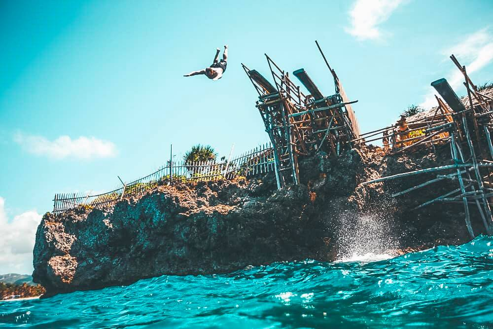 Magic Island Diving Plank