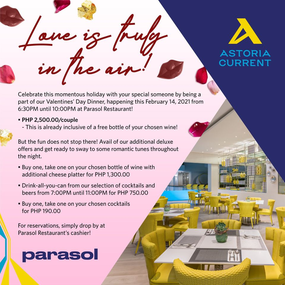love is in the air astoria current promo