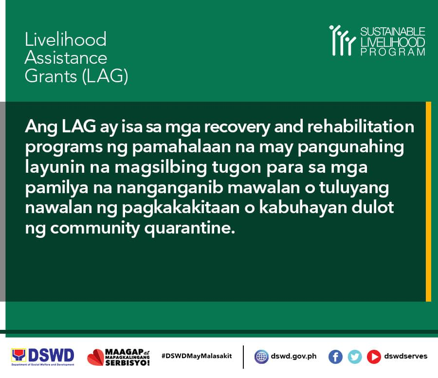 LAG (Livelihood Assistance Grants)